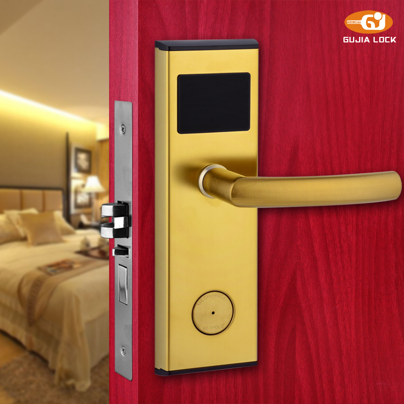 Electronic Stainless Steel Material Rfid Key Card Hotel
