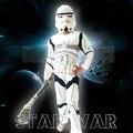Звездные войны Клон Trooper Белые Солдаты Шторм Commando Boy Мышцы Косплей Костюм Костюм Супергероя Дети День Рождения Halloween Party