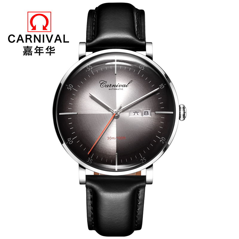 2019 luxury top brand Carnival military watch men genuine leather switzerland automatic mechanical men watches waterproof clock2019 luxury top brand Carnival military watch men genuine leather switzerland automatic mechanical men watches waterproof clock