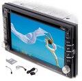 """Универсальный 2 Din 6.2 """"В Тире Dvd-плеер Автомобиля GPS/Радио/FM/USB/SD/Bluetooth/TV HD цифровой сенсорный экран полный популярные функции"""