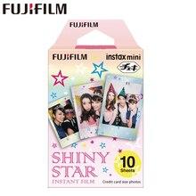 Оригинальный Fujifilm Fuji Instax Mini 8 блестящие звезды принты фильм 10 листов для 8 50 s 7 s 90 25 Доля SP-1 мгновение камер новое поступление