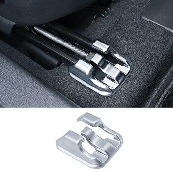QHCP Car Seat Slide Clip Seat Block Buckle ABS Sliding Rail Blanking Cap Auto Fastener & Clip Special For Lexus UX200 2016H 2019