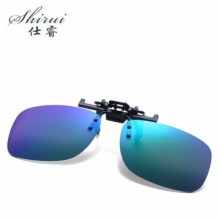 2019 Unisex Polarized Clip On Sunglasses Near-Sighted Night Vision Lens Anti-UVA Anti-UVB Sunglasses Clip