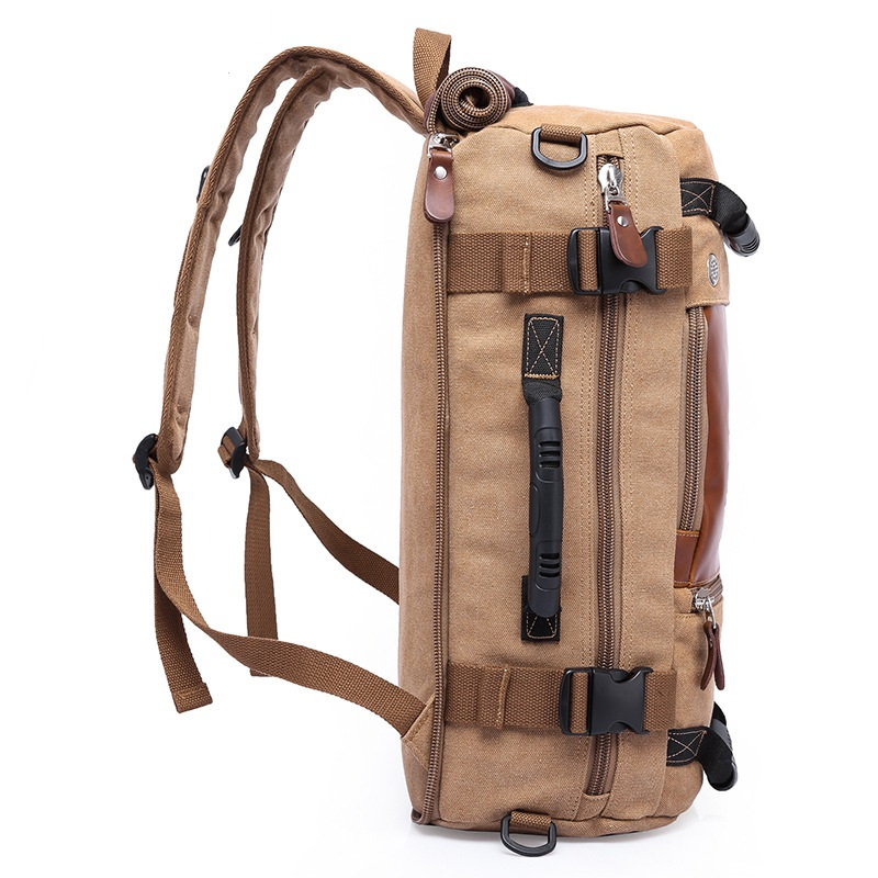 DB27 カカホット高品質プロモーションファッションデザイナーヴィンテージキャンバスビッグサイズメンズトラベルバッグ旅行バッグ大容量の荷物バックパック  グループ上の スーツケース & バッグ からの 旅行バッグ の中 2