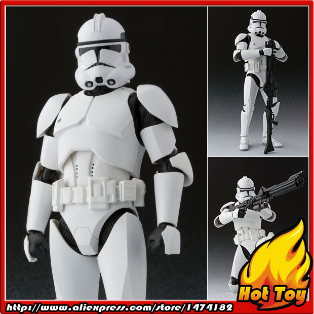 100% Original BANDAI Tamashii Nations S.H.Figuarts (SHF) Action Figure - Clone Trooper Phase 2 from