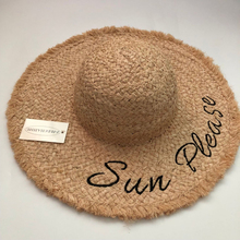 Summer Straw Letter Hat Women Wide Brim Sun Protection Beach New Adjustable Floppy Foldable for Ladies fedoras