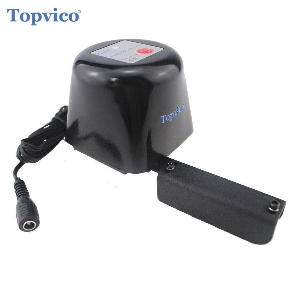 Topvico Z-Vague Plus Gaz/Eau Vanne D'arrêt Automatique Zwave Smart Domotique travail avec Z vague D'eau Fuite Détecteur De Fuite De Gaz