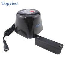 Topvico Z Wave Plus 가스/물 자동 차단 밸브 Zwave 스마트 홈 오토메이션 Z 웨이브 누수 가스 누설 센서 작동