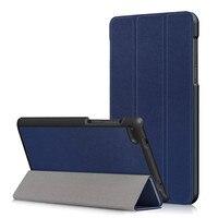 50Pcs PU Stand Cover Case For Lenovo Tab4 Tab 4 7 Essential TB 7304 TB 7304F