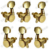 3R3L Gold Locked String Guitar Tuning Pegs Keys Tuners Machine Heads For Acoustic Electric Folk Guitar