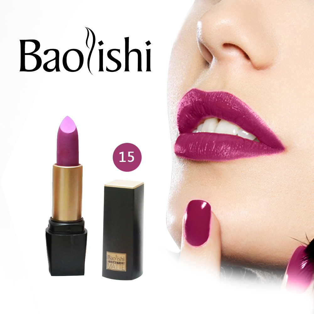 baolishi New Brand lipstick Healthy Moisturizer Smooth Waterproof - Makeup - Photo 3