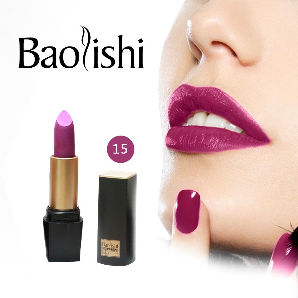 baolishi Nouvelle Marque Rouge À Lèvres Sain Hydratant Doux Lèvres - Maquillage - Photo 3