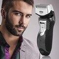 Sem Fio recarregável Barbeador Barbeador Elétrico Double Edge Trimmer EU Plug Venda Quente