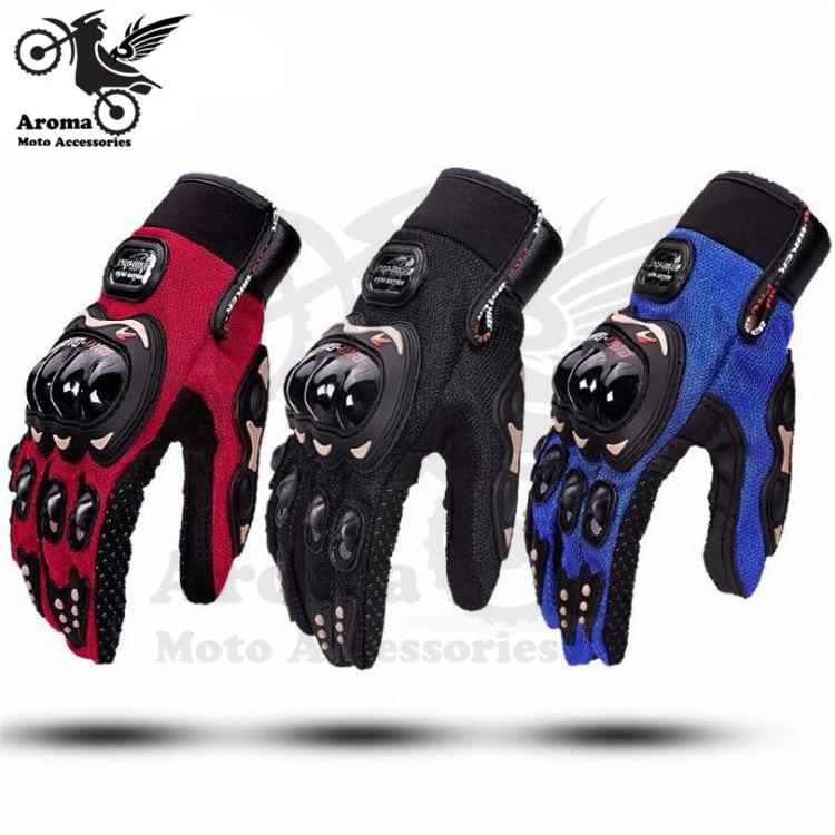 3 colors motorbike accessories hand part moto handglove full finger motorcycle glove for yamaha honda suzuki Kawasaki KTM gloves