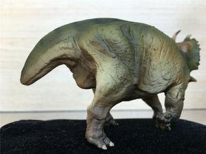 Image 5 - Pnso spinops centrosaurus styracosaurus恐竜フィギュア玩具コレクタ子供ギフト