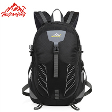 40L Large Capacity Sports Travel Bag Men Women Outdoor Camping Rucksack Multifunction Nylon Waterproof Male Hiking Backpacks 40l large waterproof fashion bags rucksack nylon casual minecraft backpacks unisex bag air cushion belt big capacity backpack