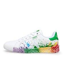 Fabrecandy Большие размеры 36—45 весна лето Обувь для мужчин удобно Обувь на плоской подошве на шнурках Обувь мужская мода повседневная обувь Для мужчин кроссовки