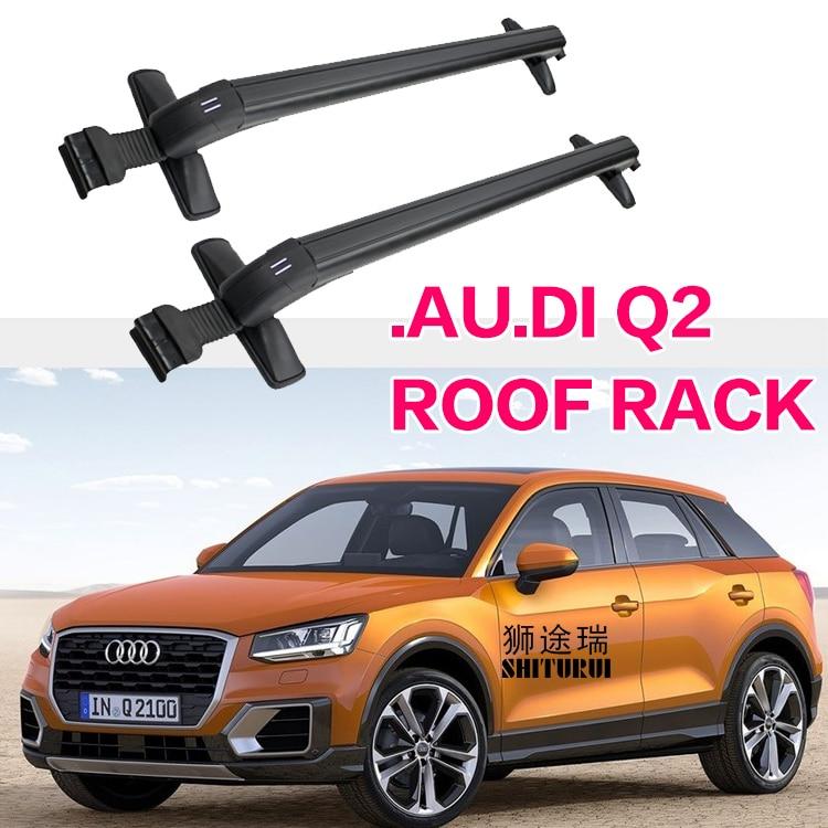 Roof Rack For Hyundai Santa Fe Cross Bar 2013-2017 Cargo bar Set Aluminum