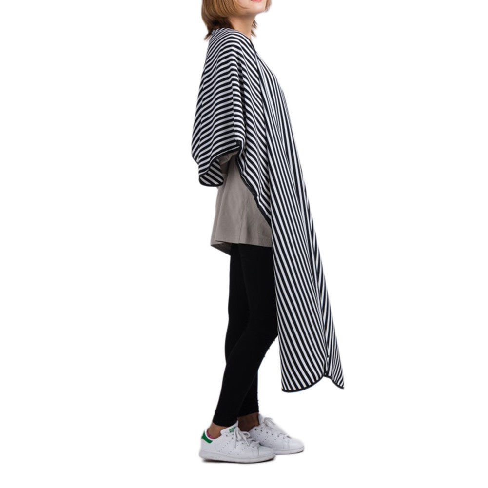 Fashion Striped Salon Hair Cutting Cloth Barber Cape Hairdressing Cape Apron Cosmetic Tools To Be Highly Praised And Appreciated By The Consuming Public Caps, Foils & Wraps