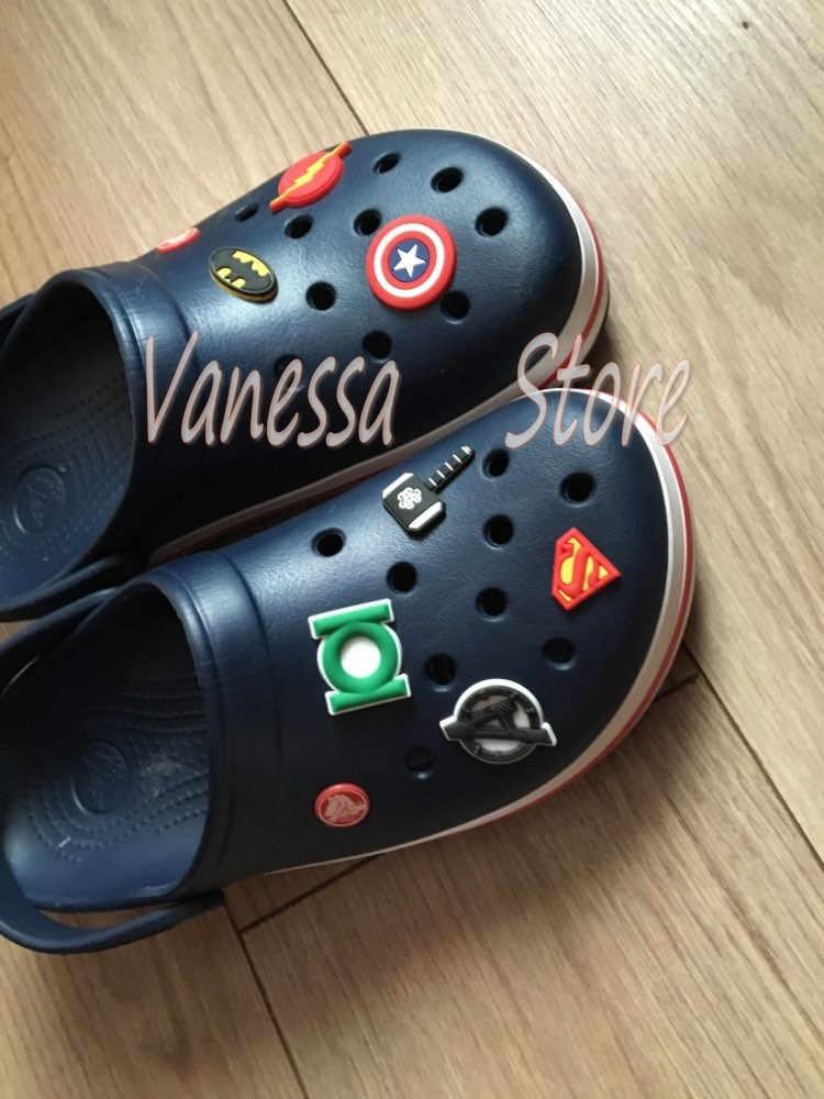 4 pçs/set Ocean Princess Moana PVC Acessórios Encantos Da Sapata Sapato Decoração Em Forma de Bandas Pulseiras Croc JIBZ Ornamentos de Sapato Fivelas