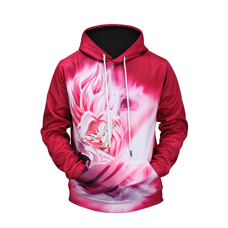 Cloudstyle 3D Goku Printing Hoodies 2018 Fashion Design Hoody Casual Style Sweatshirt With Hat Young Boy Pullover Plus Size 5XL