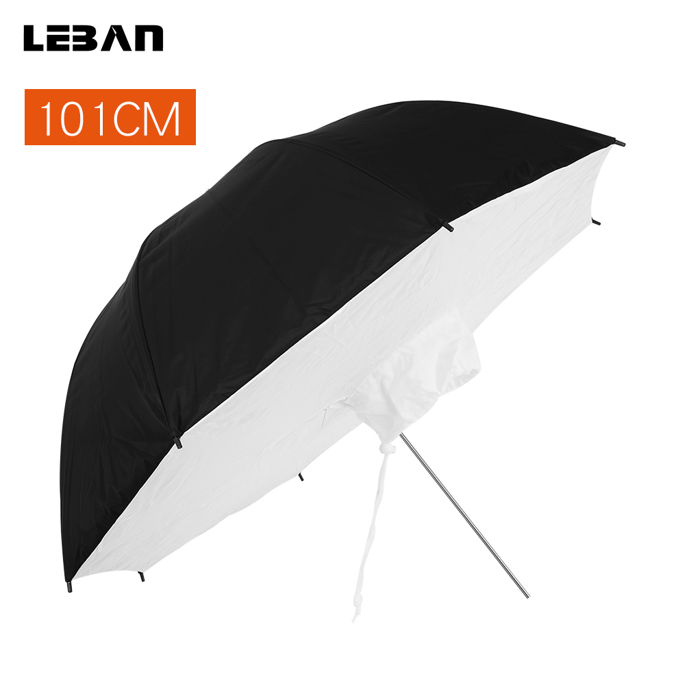 "Reflective Umbrella Softbox: Photo Studio Kit 40"" 101cm Flash Stobe Lighting Reflective"