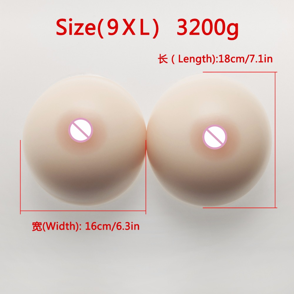 3200g big silicon breast boobs h cup man to female crossdressing prosthesis forms drop shipping wholesale3200g big silicon breast boobs h cup man to female crossdressing prosthesis forms drop shipping wholesale