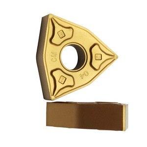 Image 2 - 10 pces wnmg080404 wnmg080408 processamento de aço carboneto insere ferramentas lâmina alto desempenho custo