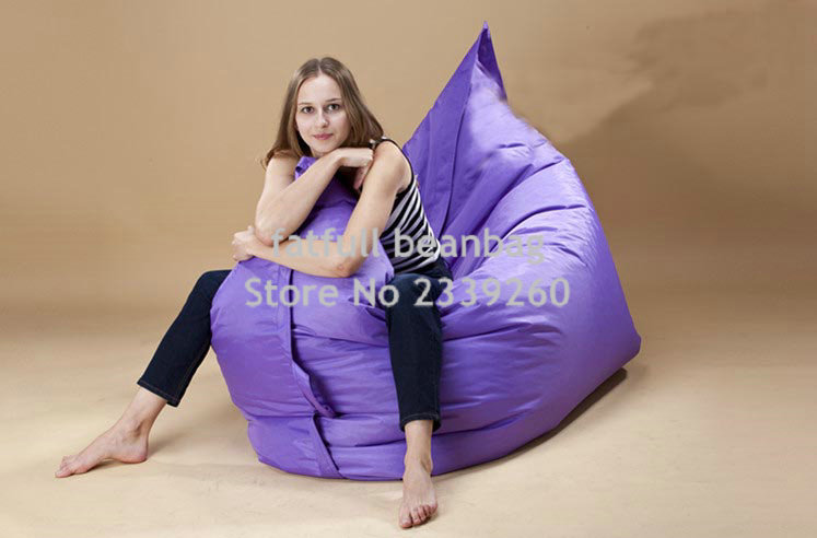 Aliexpress Buy Cover Only No Filler Navy Blue Garden Relax Bean Chair Wholesale Outdoor Cushions Giant Bag420D Nylon Coverfat Sack From