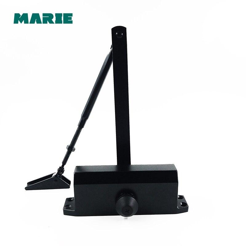 Cor preta Fácil de Instalar Tampão Hidráulico Porta Mais Próxima, Para 25 kg-45 kg porta, posicionamento proteger porta mais próxima