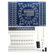 CD4017 Rotating LED SMD NE555 Soldering Practice Board DIY Kit Fanny Skill Training Electro