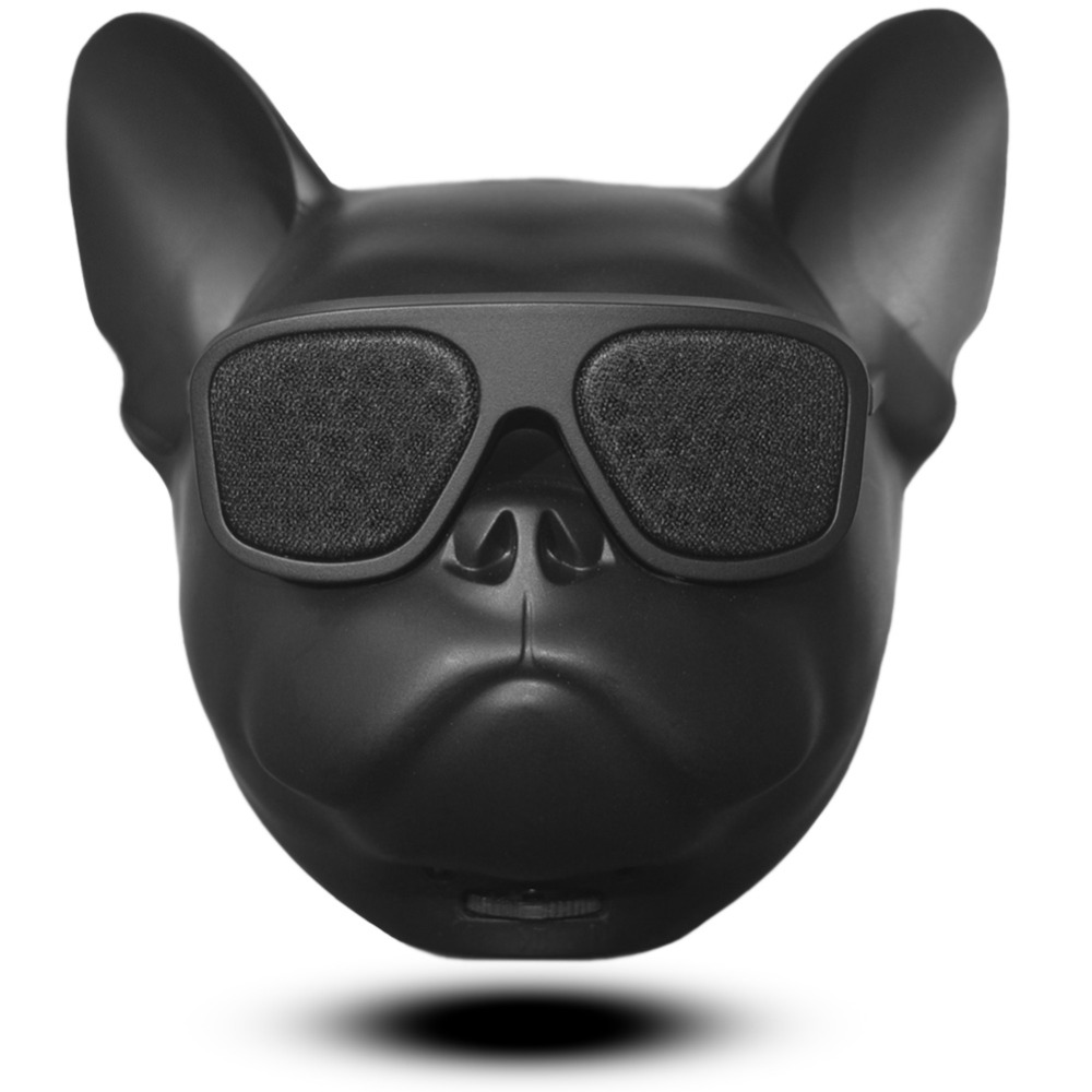 Latest Aerobull Nano Wireless Bluetooth Speaker MINI Bulldog Bluetooth Speaker Outdoor Portable TF HIFI Bass Room Decoration