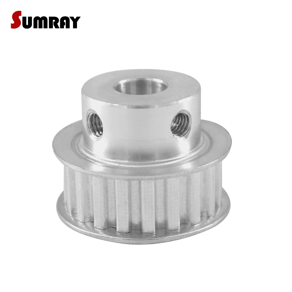 SUMRAY XL 20T Timing Pulley 4/5/6/6.35/17/19/20mm Bore Gear Belt Pulley 11mm Width Synchronous Pulley Wheel for 3D Printer SUMRAY XL 20T Timing Pulley 4/5/6/6.35/17/19/20mm Bore Gear Belt Pulley 11mm Width Synchronous Pulley Wheel for 3D Printer