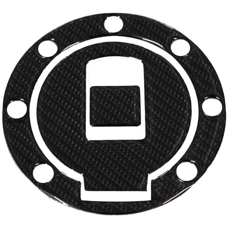 K-SHAROMOTOR Motorcycle 3D Carbon Fiber Fuel Tank Gas Cap Pad Filler Cover Sticker Decals For YAMAHA TZM150 TZR150 TDM850 FZ400