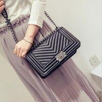 Newest Luxury Handbags Women Bags Designer V Line Shoulder Bag Famous Brand Female Crossbody Bags For