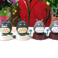 Wholesale Price 12 Pieces Per Lot  Swing  Under Full Light No Battery Happy Dancing  Solar Powered  Funny Totoro Novelty Toys
