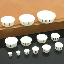 20pcs practical plastic furniture hole plug 5MM screw cap cover home woodhole pipe Cabinet hardware accessories