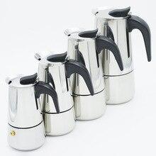 Moka Espresso Coffee Maker Latte Piano Cottura Filtro Coffee Machine Coffee Pot Percolator Tools Cafetiere Coffee Maker Pot