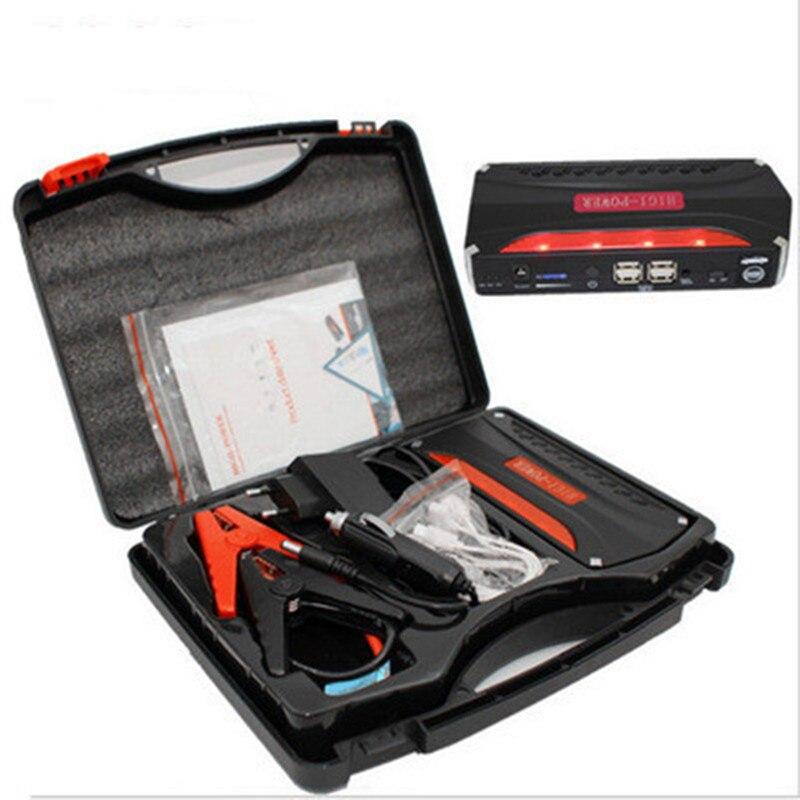 12V Car emergency Jump Starter Peak 600A Mini Portable Emergency Battery Charger Booster for Petrol Diesel