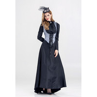 Vampire queen witch Dress Cosplay Costumes Adult Women fancy Party dresses Halloween Witch Performance Uniform