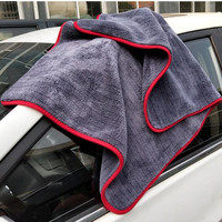 90x60cm Large Size Thick Plush Microfiber Towel Car Wash Clean Cloths Microfibre Wax Polishing Detailing Towel Absorbent
