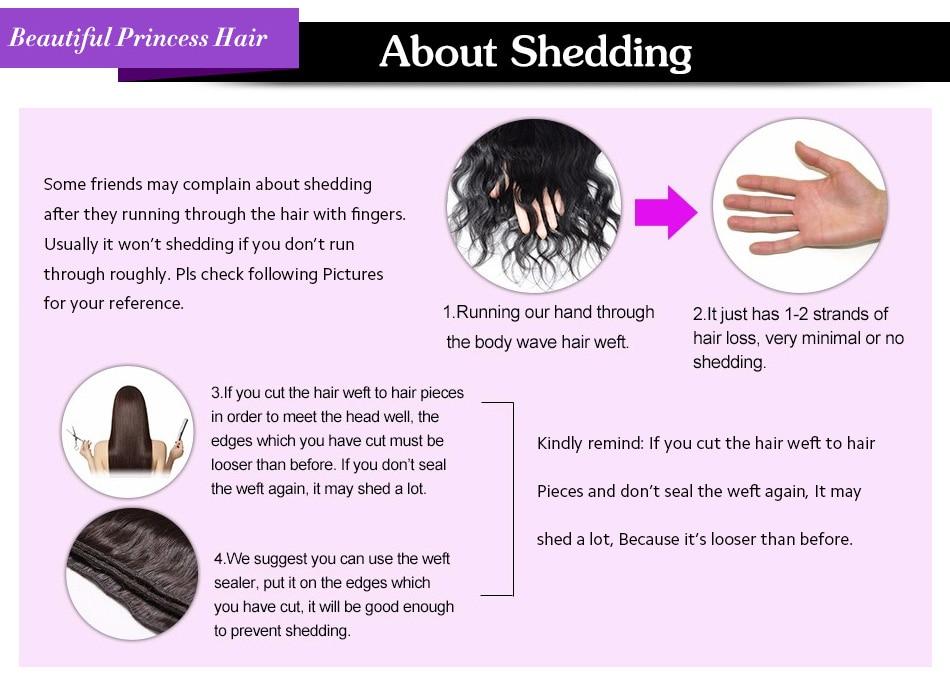 Princess Hair Deep Wave Bundles With Closure Double Weft Human Hair Brazilian Hair Weave 3 Bundles With Closure RemyMedium Ratio