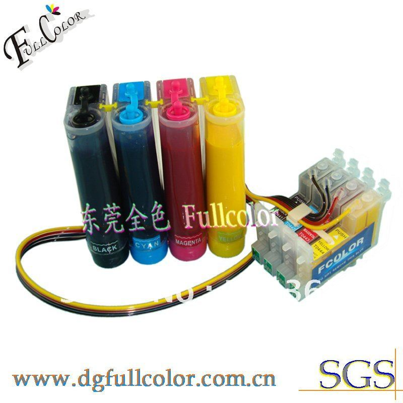 Free shipping 4 color printer CISS with 400ml sublimation ink for Epson CX3600 CX3650 CX4600 CX6400 CX6600 inkjet printer free shipping 5 pcs lot 24v 300 400ml m jyy b 30 ink pump outdoor printer solvent inkjet printer printer parts
