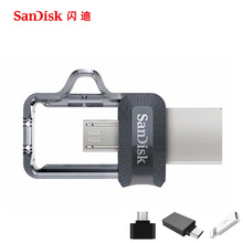 Sandisk Usb Flash Drive 128GB 64GB 32GB 16GB 150MBS OTG Usb 3.0 Pen Drive Mini U Disk Stick Usb Key with Micro USB for Telephone