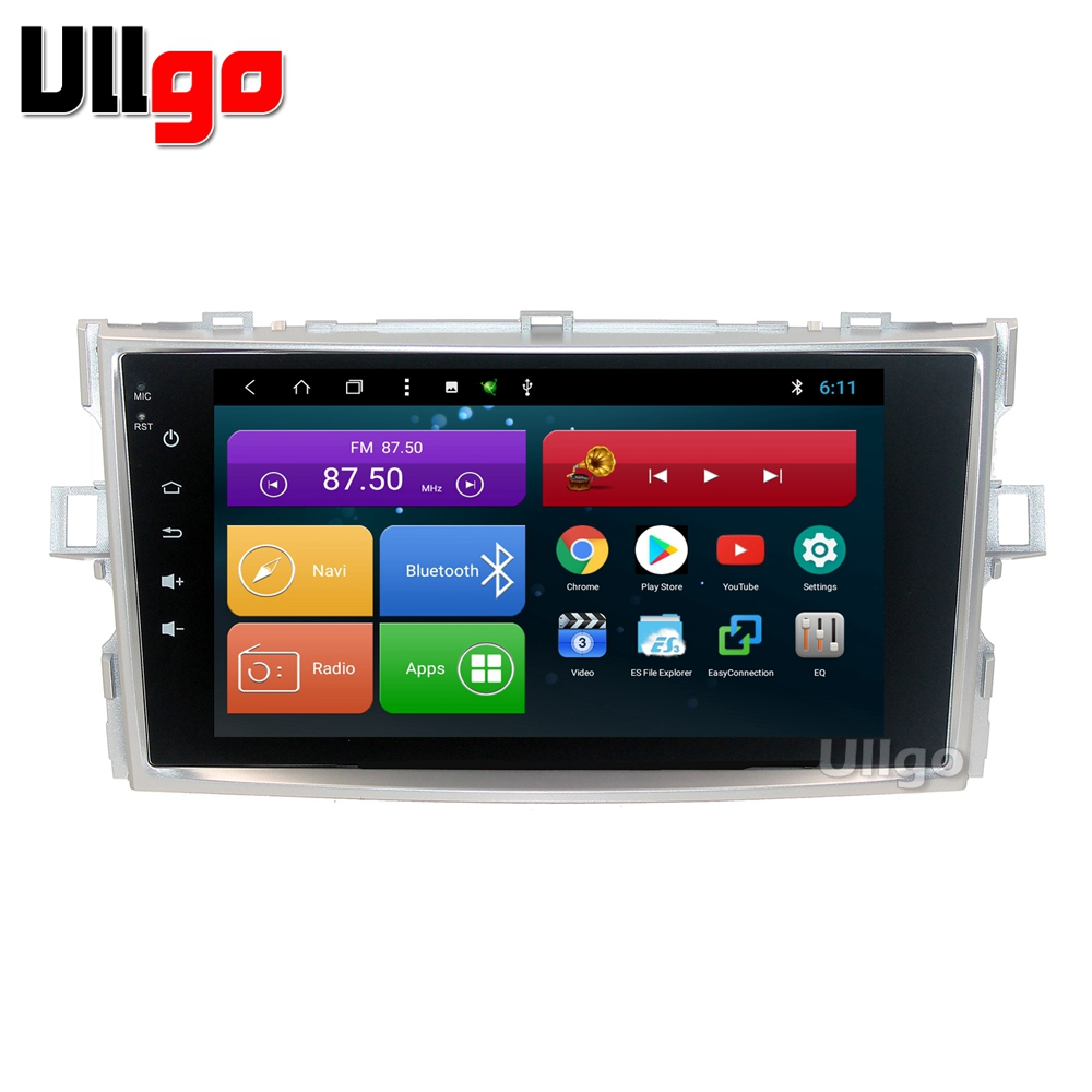 android 8 1 car head unit for toyota verso autoradio gps 1. Black Bedroom Furniture Sets. Home Design Ideas