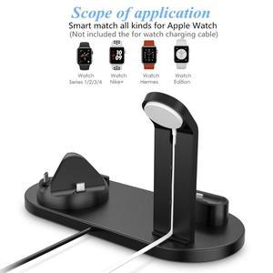 Image 2 - DCAE 3 in 1 di Ricarica Per il iPhone 11 X XR XS Max 8 7 6s 6 USB del Caricatore dock Station Per iWatch di Apple Orologio 5 4 3 2 1 AirPods