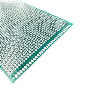 Image 3 - 20 шт 9x 15 см Прототип PCB 2 слоя 9*15 см панель универсальной платы двойная сторона 2,54 мм зеленый