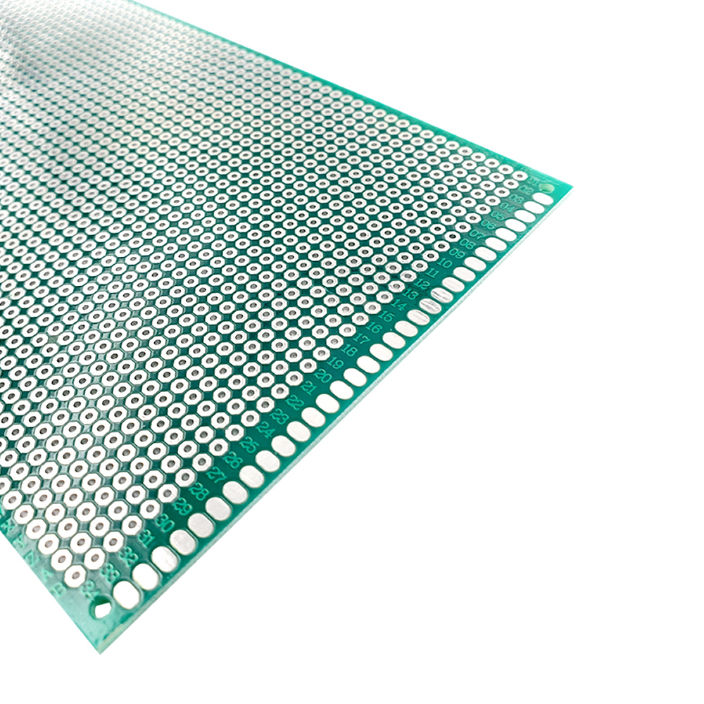 Image 3 - 20 pcs 9x15 cm PROTOTYPE PCB 2 layer 9*15CM panel Universal Board double side 2.54MM Green-in Double-Sided PCB from Electronic Components & Supplies