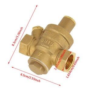 "Image 5 - DN15 1/2"" Reducing Regulator Valve Brass Water Pressure Reducing Regulator Valve Adjustable Thread Water Pressure Reducing Valve"