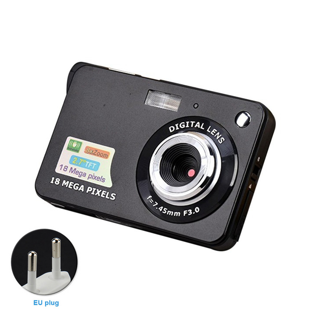 High Definition Home 18 Million Pixels Ultra Thin Durable Video Shooting Lithium Battery Kid 2.7-inch Mini Digital CameraHigh Definition Home 18 Million Pixels Ultra Thin Durable Video Shooting Lithium Battery Kid 2.7-inch Mini Digital Camera